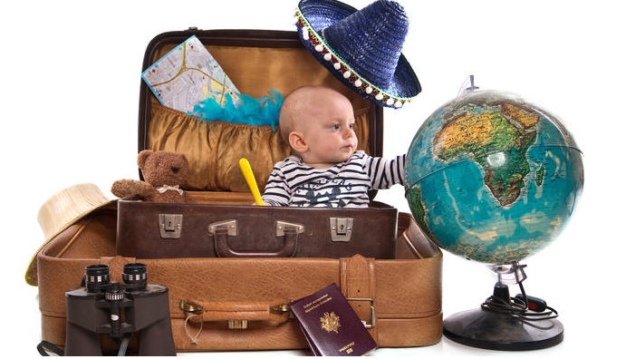Traveling with your baby and what to take for your vacation