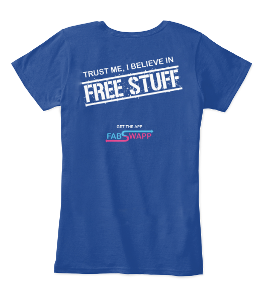 I believe in free stuff