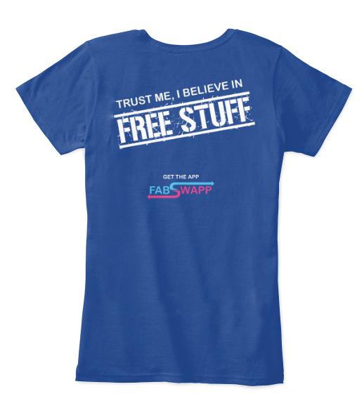 I believe in free stuff