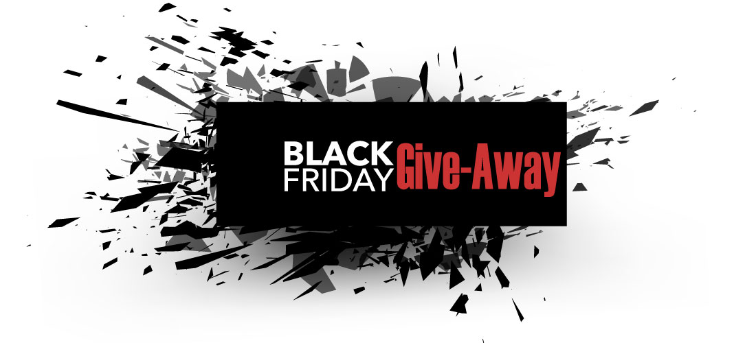 Black Friday Cyber Monday Free T-Shirt Give-Away